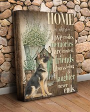 German Shepherd - Home 11x14 Gallery Wrapped Canvas Prints aos-canvas-pgw-11x14-lifestyle-front-18