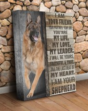German - I am your friend 11x14 Gallery Wrapped Canvas Prints aos-canvas-pgw-11x14-lifestyle-front-18