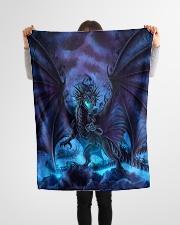 """Magical dragon Small Fleece Blanket - 30"""" x 40"""" aos-coral-fleece-blanket-30x40-lifestyle-front-14"""