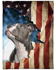 "Beautiful Staffordshire Bull Terrier Large Fleece Blanket - 60"" x 80"" front"