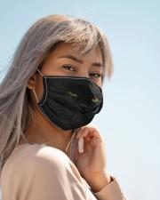 Amazing Black Cat Cloth face mask aos-face-mask-lifestyle-19
