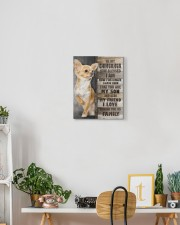 Chihuahua - You are my son 11x14 Gallery Wrapped Canvas Prints aos-canvas-pgw-11x14-lifestyle-front-03