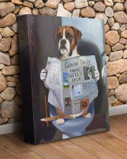 Boxer - Good morning 11x14 Gallery Wrapped Canvas Prints aos-canvas-pgw-11x14-lifestyle-front-18