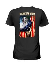 Dalmatian mama Ladies T-Shirt back