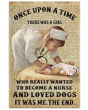 Once upon a time - There was a nurse who love dogs 11x17 Poster front