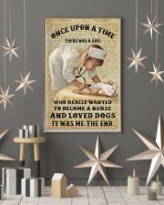 Once upon a time - There was a nurse who love dogs 11x17 Poster lifestyle-holiday-poster-1