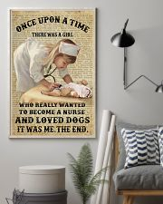 Once upon a time - There was a nurse who love dogs 11x17 Poster lifestyle-poster-1