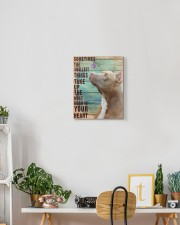 Pit Bull - In your heart 11x14 Gallery Wrapped Canvas Prints aos-canvas-pgw-11x14-lifestyle-front-03