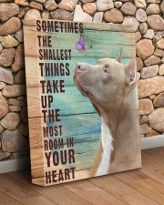 Pit Bull - In your heart 11x14 Gallery Wrapped Canvas Prints aos-canvas-pgw-11x14-lifestyle-front-18