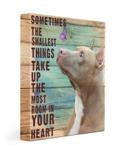 Pit Bull - In your heart 11x14 Gallery Wrapped Canvas Prints front