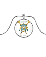 PI MU PHI Metallic Circle Necklace thumbnail