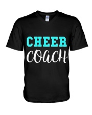 Cheerleading Coach Gift T  V-Neck T-Shirt thumbnail