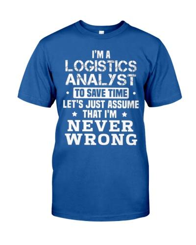 LOGISTICS ANALYST