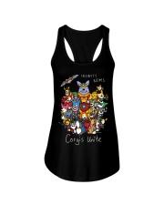Corgis Unite Ladies Flowy Tank thumbnail