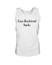Your boyfriend sucks  Unisex Tank thumbnail