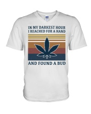 Weed Lover V-Neck T-Shirt thumbnail