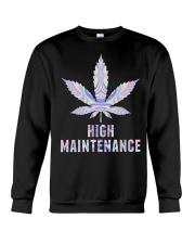 Weed High Crewneck Sweatshirt thumbnail