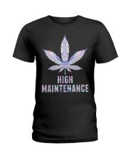 Weed High Ladies T-Shirt thumbnail