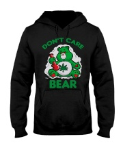 Dont Care Bear Hooded Sweatshirt thumbnail
