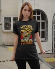 My Son Is A Nurse T shirt Classic T-Shirt apparel-classic-tshirt-lifestyle-19