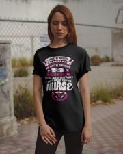 I Have Earned It Nurse Shirt Classic T-Shirt apparel-classic-tshirt-lifestyle-18