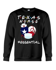 Texas Nurse Shirt Crewneck Sweatshirt thumbnail