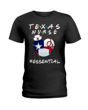 Texas Nurse Shirt Ladies T-Shirt thumbnail