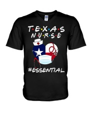 Texas Nurse Shirt V-Neck T-Shirt thumbnail