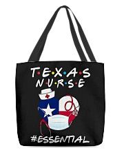 Texas Nurse Shirt All-over Tote thumbnail