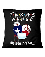 Texas Nurse Shirt Square Pillowcase thumbnail