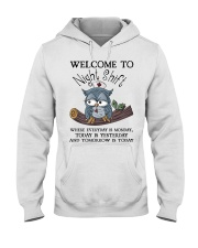 Owl Nurse welcome to night shift Hooded Sweatshirt thumbnail