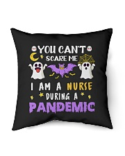 """Halloween  You Can't scare me I am a Nurse T Shirt Indoor Pillow - 18"""" x 18"""" thumbnail"""