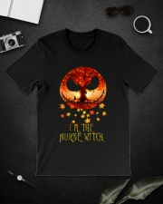 Im The Nurse Witch Classic T-Shirt lifestyle-mens-crewneck-front-16