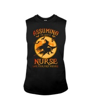 Assuming I'm just a nurse was your first mistake Sleeveless Tee thumbnail