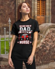 The Best Kind Of Dad Raises A Nurse shirt Classic T-Shirt apparel-classic-tshirt-lifestyle-06