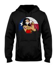 Nice Vintage Wonder Woman Texas Nurse Hooded Sweatshirt thumbnail