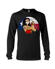 Nice Vintage Wonder Woman Texas Nurse Long Sleeve Tee thumbnail
