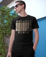 Melanin Nurse Shirt Classic T-Shirt apparel-classic-tshirt-lifestyle-17