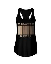 Melanin Nurse Shirt Ladies Flowy Tank thumbnail