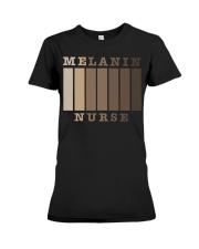 Melanin Nurse Shirt Premium Fit Ladies Tee thumbnail