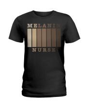Melanin Nurse Shirt Ladies T-Shirt thumbnail