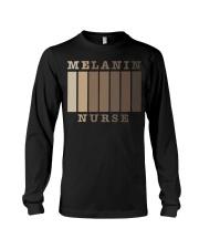 Melanin Nurse Shirt Long Sleeve Tee thumbnail