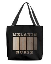 Melanin Nurse Shirt All-over Tote thumbnail