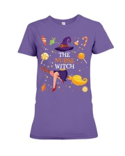 Halloween The Nurse Witch T Shirt Premium Fit Ladies Tee thumbnail