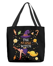 Halloween The Nurse Witch T Shirt All-over Tote thumbnail