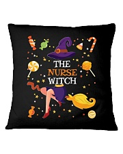 Halloween The Nurse Witch T Shirt Square Pillowcase thumbnail