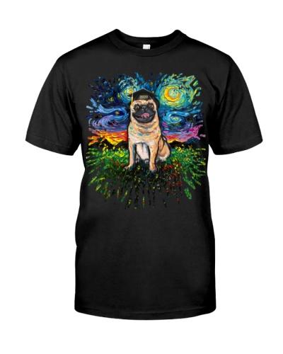 Happy Pug - Funny Graduation Gift