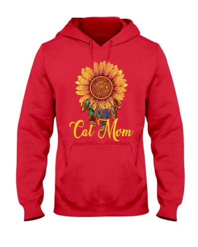 Cat Mom Sun Flower