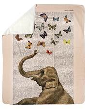 """NOT SOLD ANYWHERE ELSE Sherpa Fleece Blanket - 50"""" x 60"""" front"""