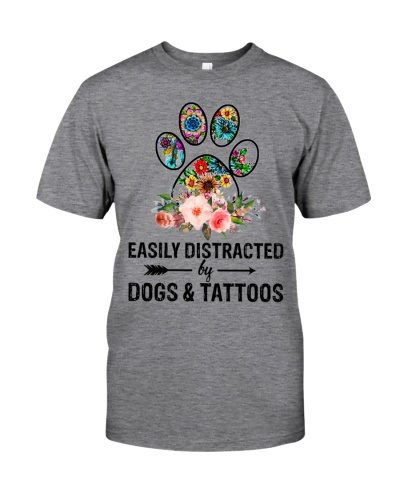 Distracted By Dog Tattoos